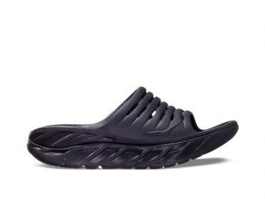 Hoka One One ORA Recovery Slide black women