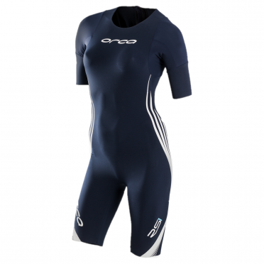 Orca RS1 sleeved swimskin blue women