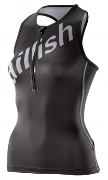 Sailfish Tri top black/silver women