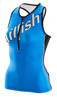 Sailfish Tri top blue women