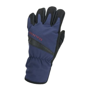 SealSkinz All weather cycling gloves blue/black