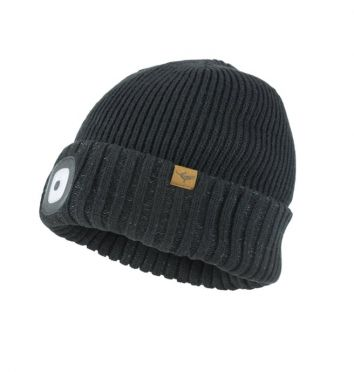 Sealskinz cold weather led beanie black