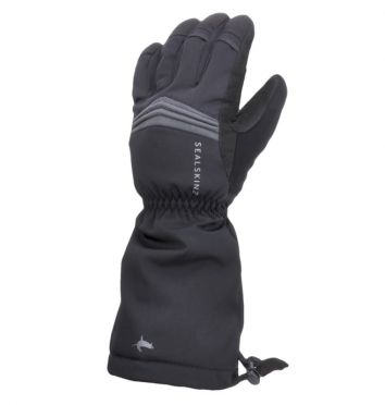 SealSkinz Extreme cold weather reflective gauntlets black