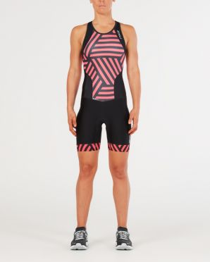 2XU Perform Y-back trisuit black/red women