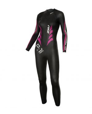 2XU P:1 Propel full sleeve wetsuit black/pink women