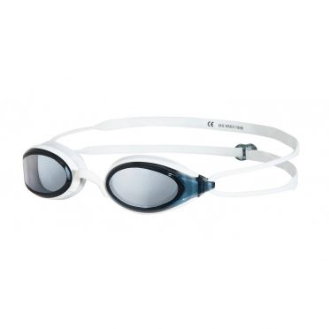 Zoggs Fusion Air goggles white - dark lens