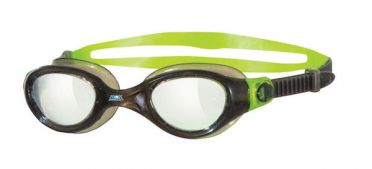 Zoggs Phantom clear goggles green