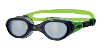 Zoggs Phantom tinted goggles green