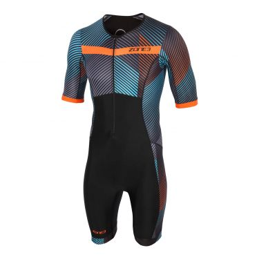 Zone3 Activate plus short sleeve trisuit momentum men