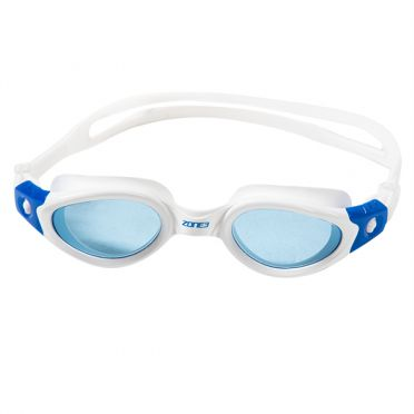 Zone3 Apollo tinted lens goggles white/blue