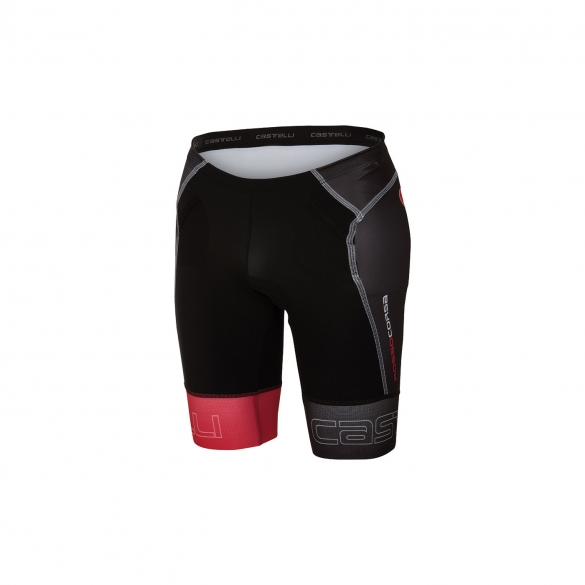Castelli Free tri Short black/red men 16070-231  CA16070-231