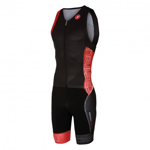Castelli Free sanremo tri suit sleeveless men black/red 16071-231  CA16071-231
