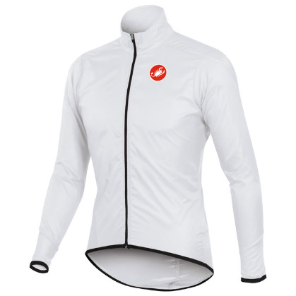 Castelli squadra long jacket white mens 10504-001  CA10504-001
