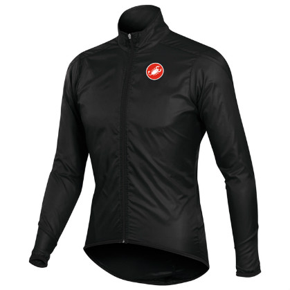 Castelli squadra long jacket black mens 10504-010  CA10504-010