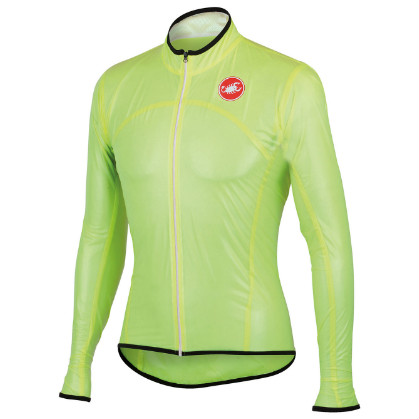 Castelli Sottile due jacket yellow-fluo mens 13086-032  CA13086-032(2015)