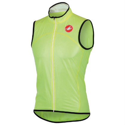 Castelli Sottile due vest yellow-fluo mens 13088-032  CA13088-032(2015)