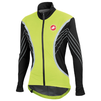 Castelli misto jacket black/yellow-fluo mens 13512-321  CA13512-321(2015)