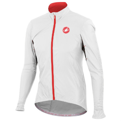 Castelli Velo jacket white mens 14026-001  CA14026-001