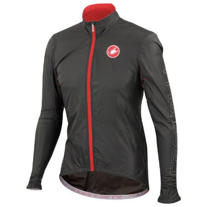 Castelli Velo jacket black mens 14026-010  CA14026-010