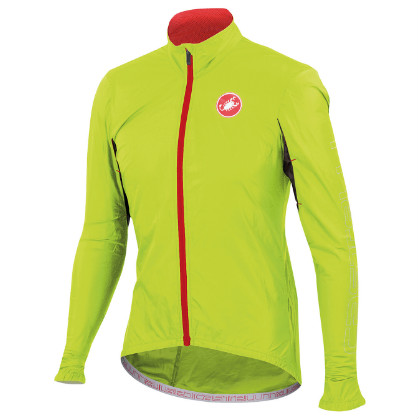 Castelli Velo jacket yellow-fluo mens 14026-032  CA14026-032