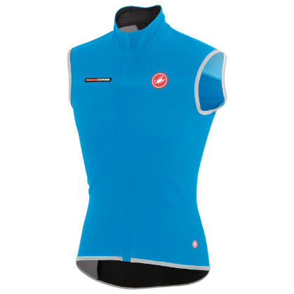 Castelli Fawesome 2, gabba windvest blue mens 14514-059  CA14514-059