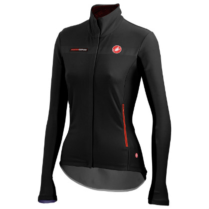 Castelli gabba W long sleeve jacket black women 14557-010  CA14557-010