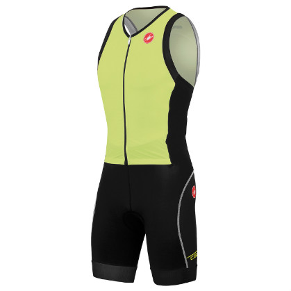 Castelli Free sanremo tri suit sleeveless yellow mens 14107-032 2015  CA14107-032(2015)