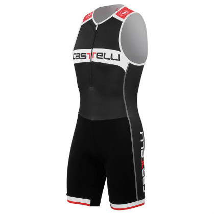 Castelli Core tri suit black/white men 14110-010  CA14110-010