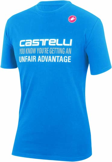 Castelli advantage T-shirt blue mens 14074-059  CA14074-059