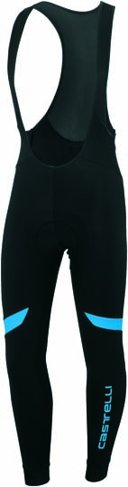 Castelli Velocissimo 2 bibtight black/blue mens 14525-591  CA14525-591