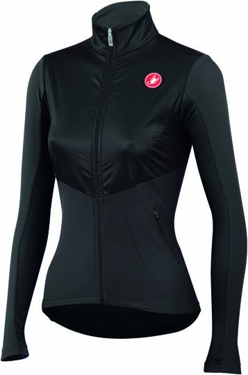 Castelli Illumina cycling jersey black/anthracite ladies 14559-010  CA14559-010