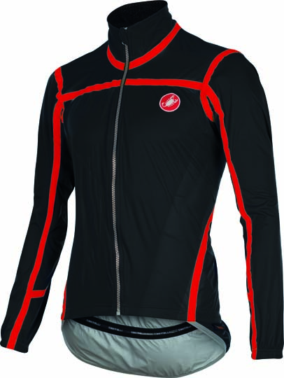 Castelli Pavé jacket black/red mens 15511-010  CA15511-010