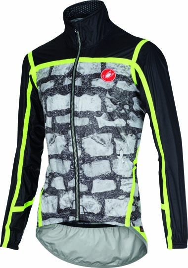 Castelli Pavé jacket photo print mens 15511-910  CA15511-910