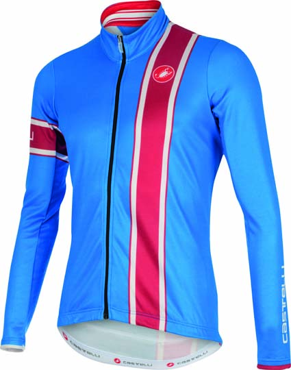 Castelli Storica jersey FZ blue/red mens 15532-059  CA15532-059