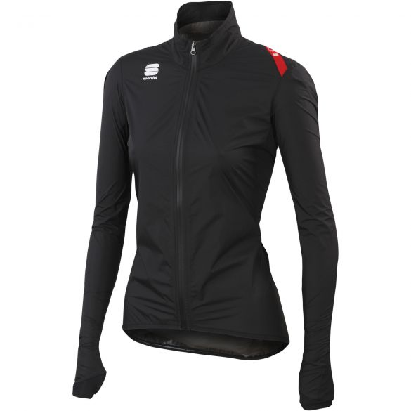 Sportful Hotpack Norain Cycling jersey black women 01338-002  1101338-002-VRR