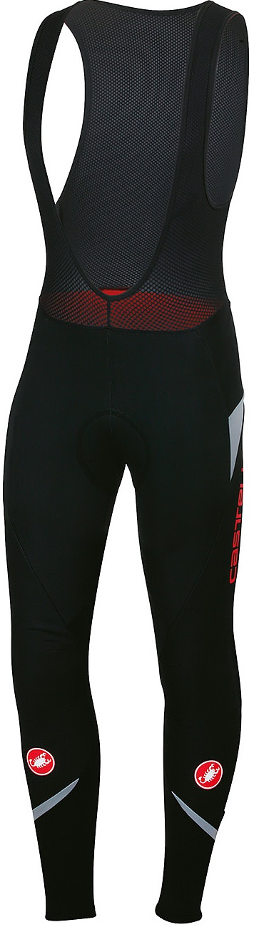 Castelli Polare 2 bibtight black/reflex men  13523-710