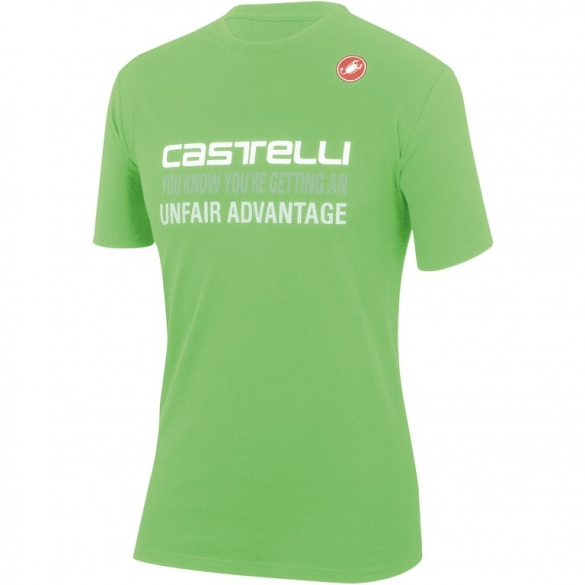 Castelli advantage T-shirt green mens 14074-047  CA14074-047