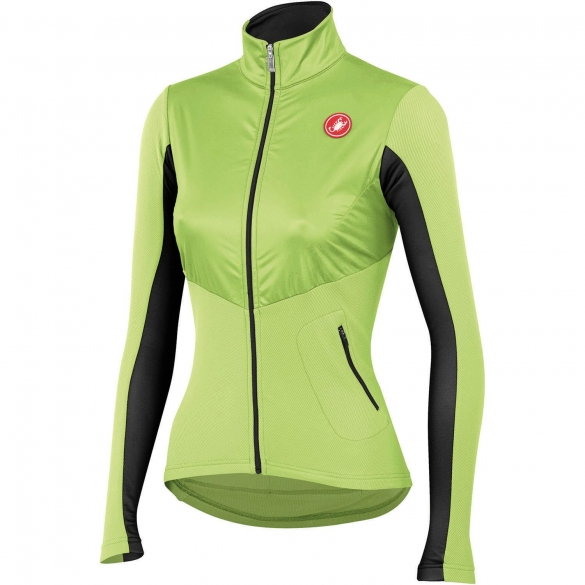 Castelli Illumina cycling jersey sulphur/anthracite ladies 14559-015  CA14559-015