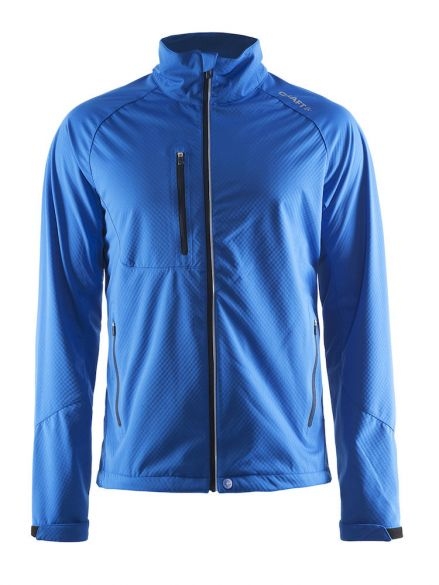 Craft Bormio shoft shell winter jacket blue men  1903556-2336