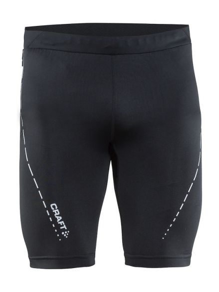 Craft Essentials running short tights black men  1904795-9999
