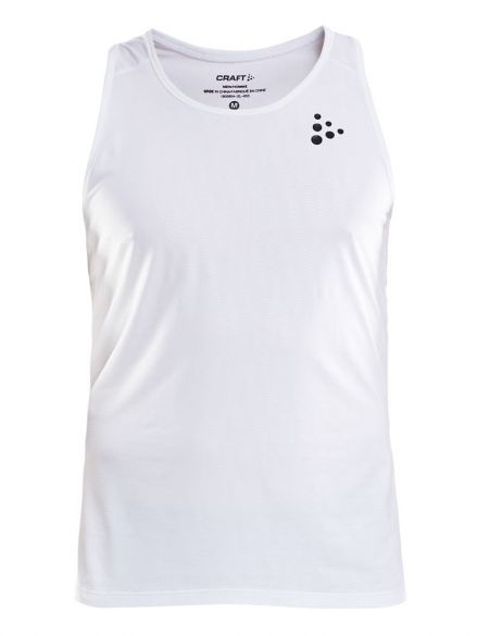 Craft Shade sleeveless running shirt white men  1905854-900999