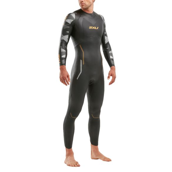 2XU P:2 Propel full sleeve wetsuit men  MW4990c-BLK/FZZ