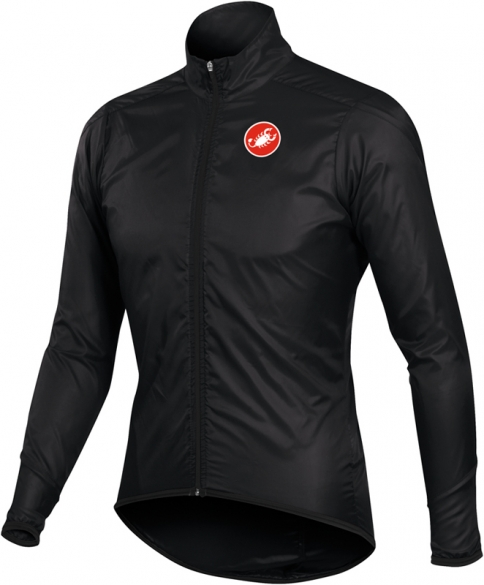 Castelli squadra long jacket black mens 10504-010  10504-010