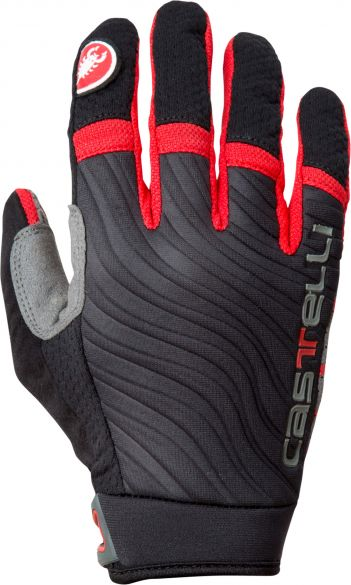 Castelli CW. 6.0 cross glove black/red mens 11539-910  11539-910