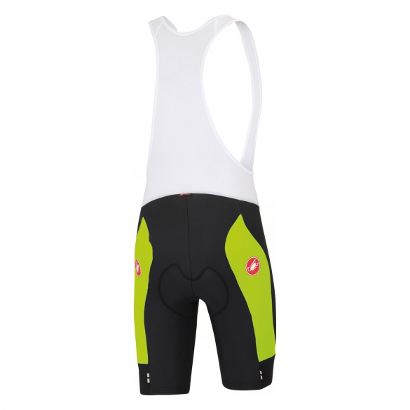 Castelli Evoluzione bibshort black men/yellow 14008-321  CA14008-321