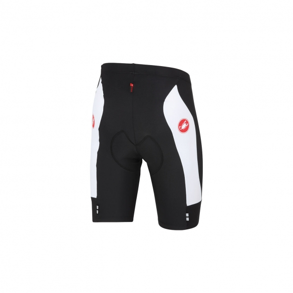 Castelli Evoluzione short black/white men 14009-101  CA14009-101