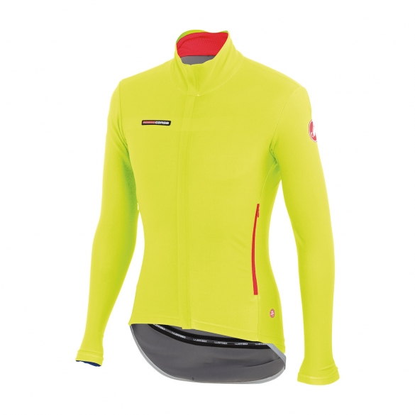 Castelli Gabba 2 long sleeve jacket yellow-fluo mens 14513-032  CA14513-032
