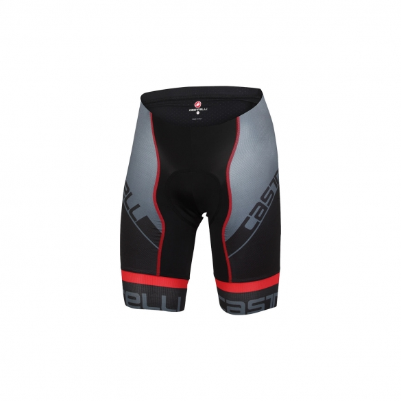 Castelli Volo short black/red men 15010-023  CA15010-023