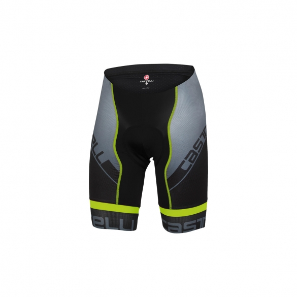 Castelli Volo short black/yellow men 15010-032  CA15010-032