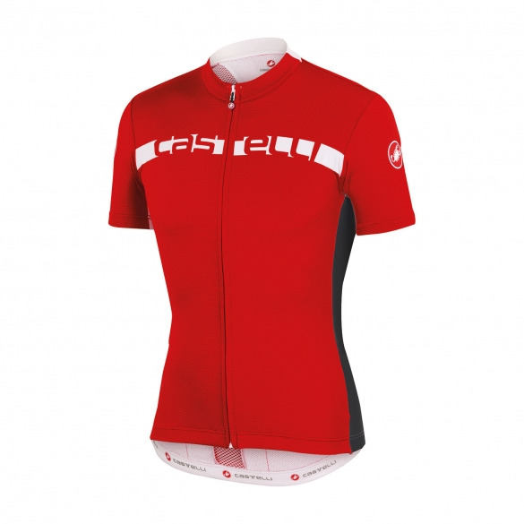 Castelli Prologo 4 jersey red men 15017-023  CA15017-023